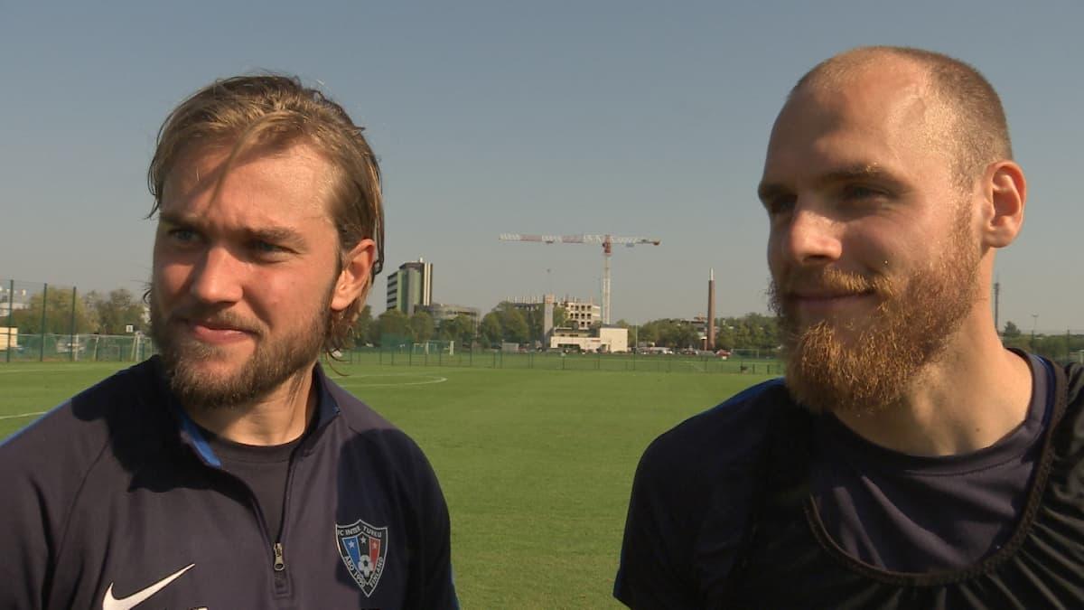 Mika Ojala ja Timo Furuholm.