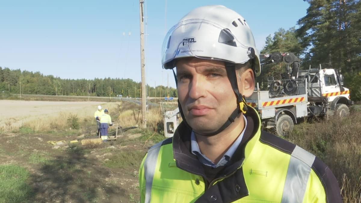 Verkkojohtaja Juho Jussila Vakka-Suomen Voima
