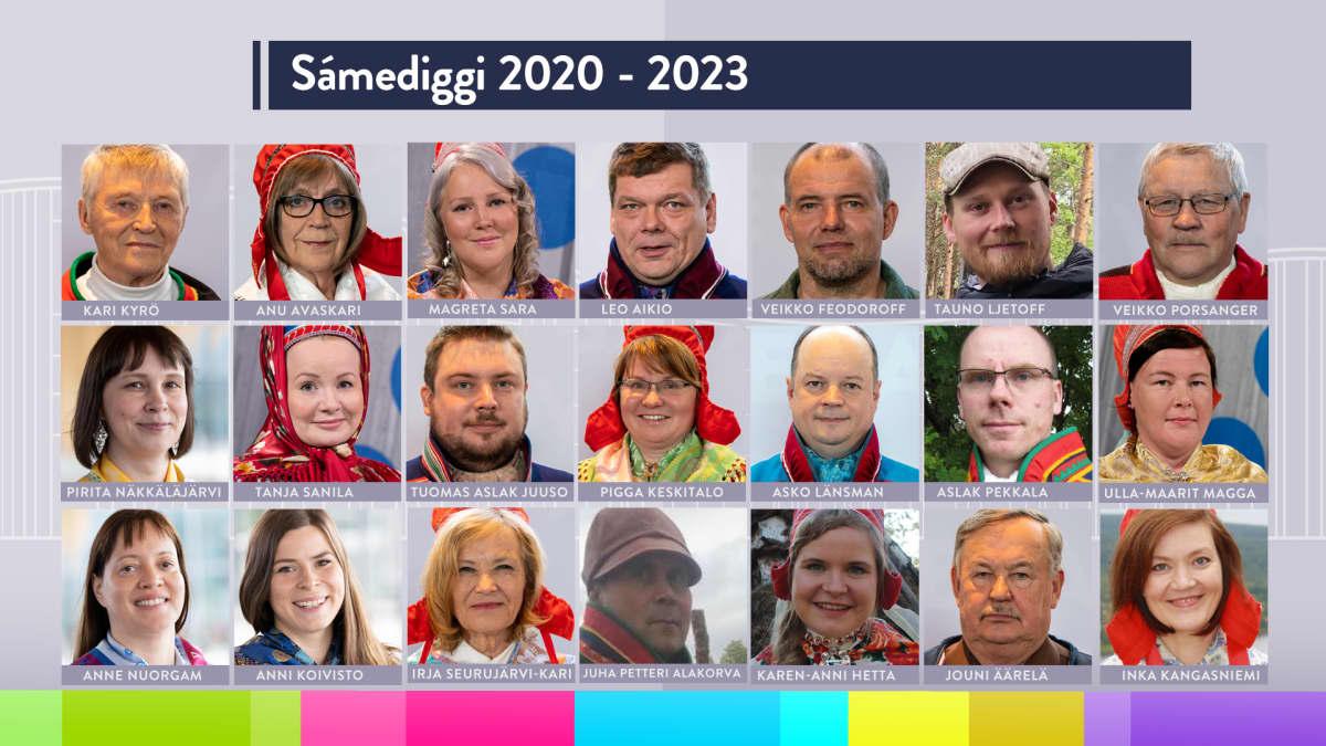 Saamelaiskäräjät 2020-2023