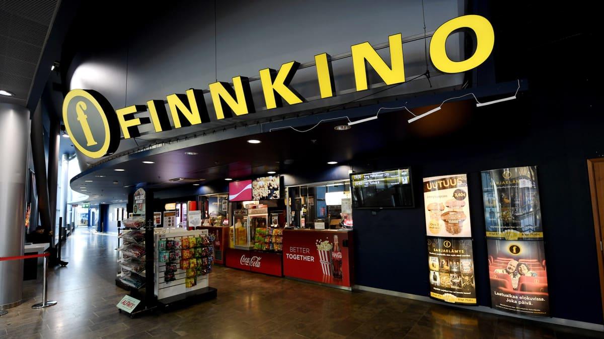 Finnkinon elokuvateatterikeskus kauppakeskus Iso Omenassa Espoossa.
