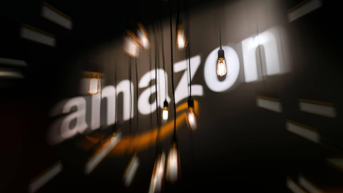 Amazonin logo.