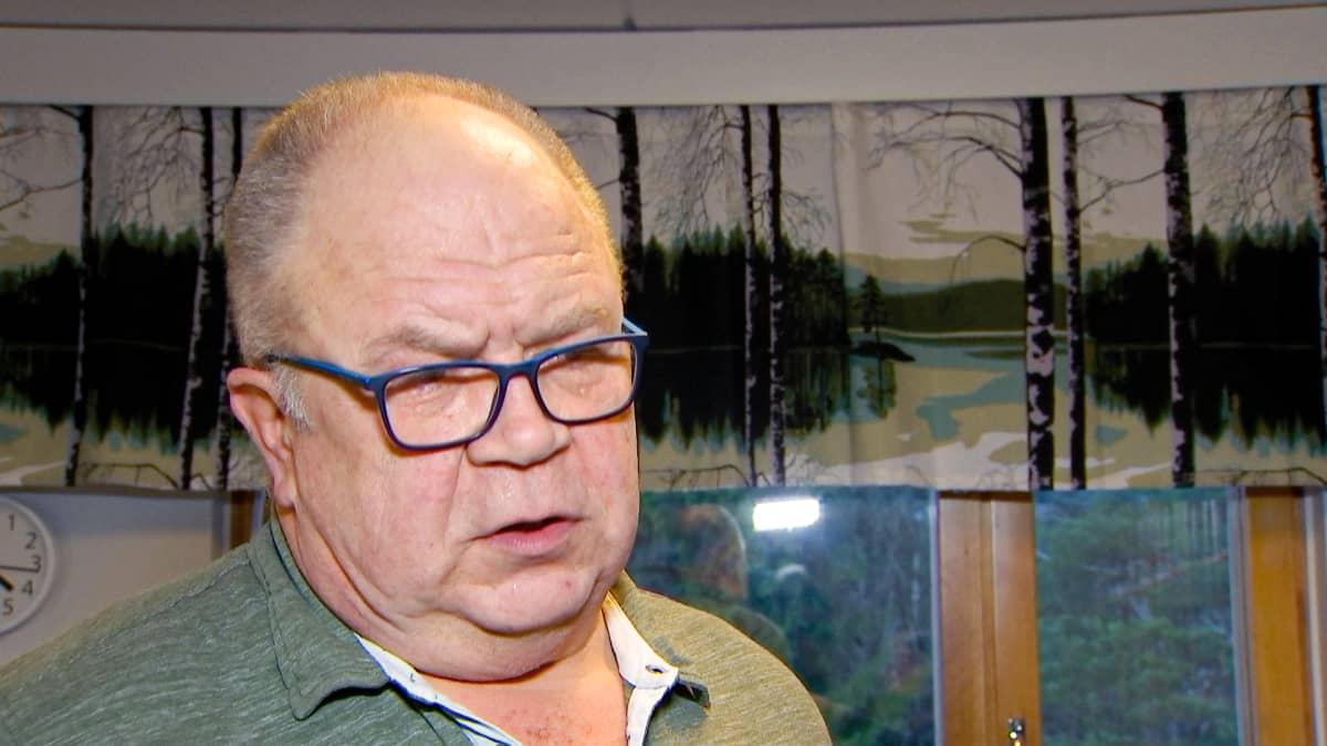 Markku Virtanen, puheenjohtaja, Valtakunnalliset eläkeläisjärjestöt ry