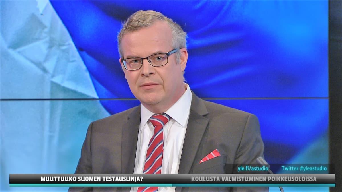 HUSin diagnostiikkajohtaja Lasse Lehtonen