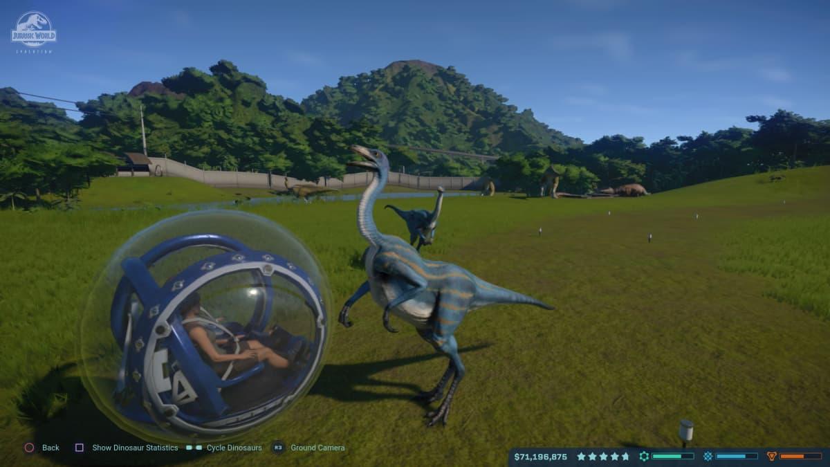 Jurassic World Evolution, videopeli