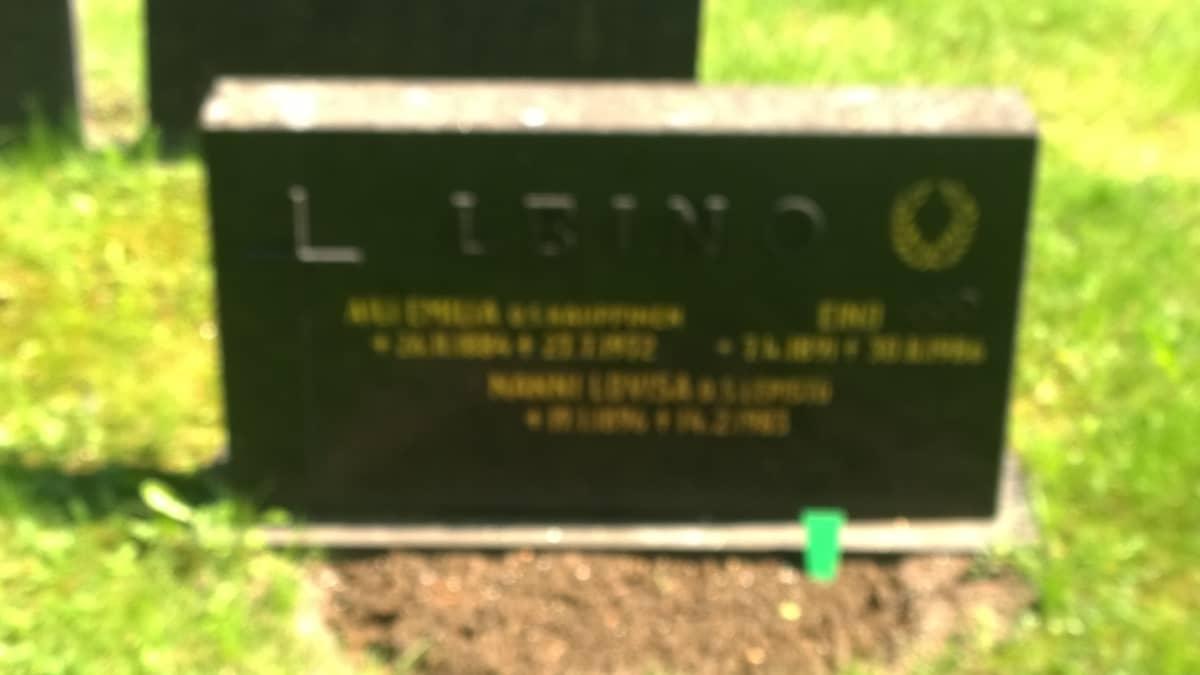 Eino Leinon hauta