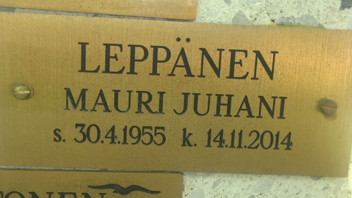Mauri Leppäsen hauta