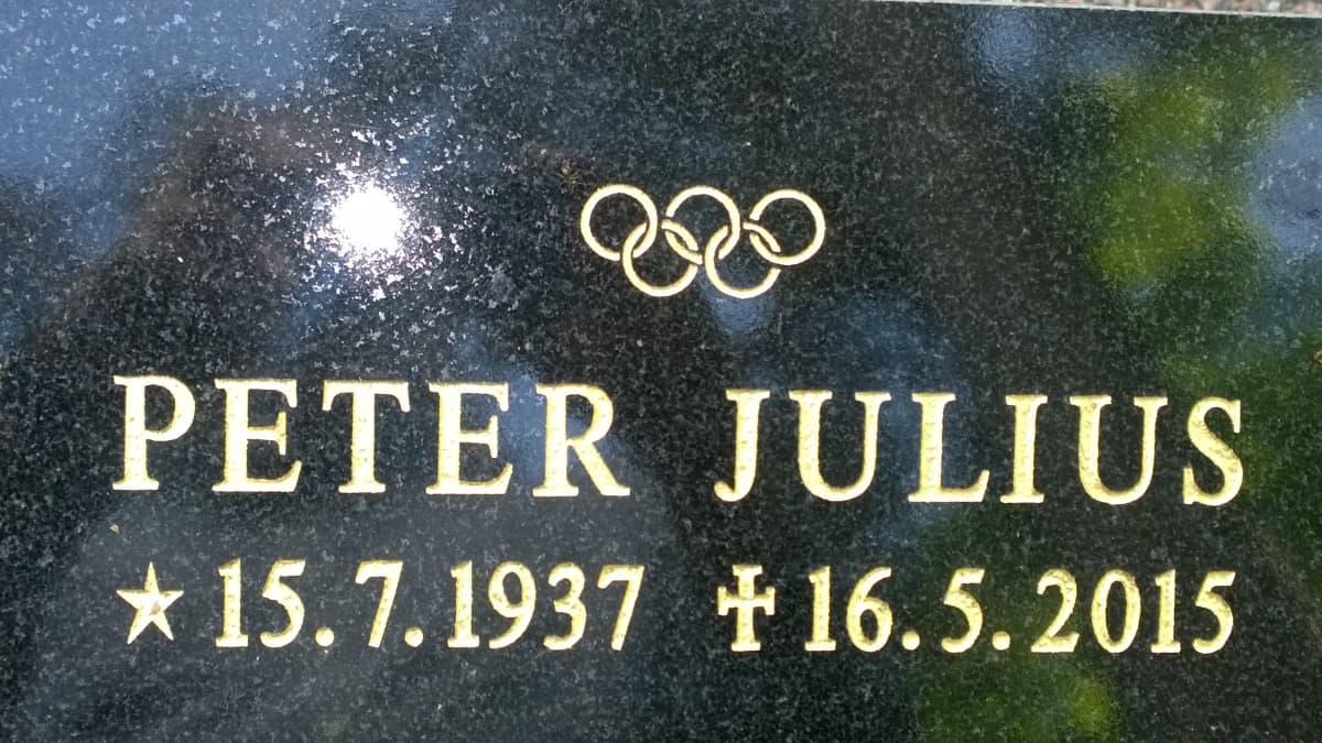 Peter Tallbergin hauta