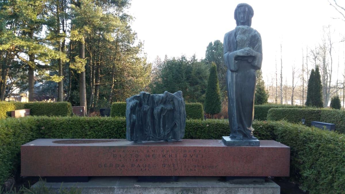Risto Rytin hauta