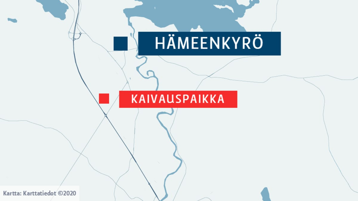 Turkimusojan seutu Hämeenkyrössä.