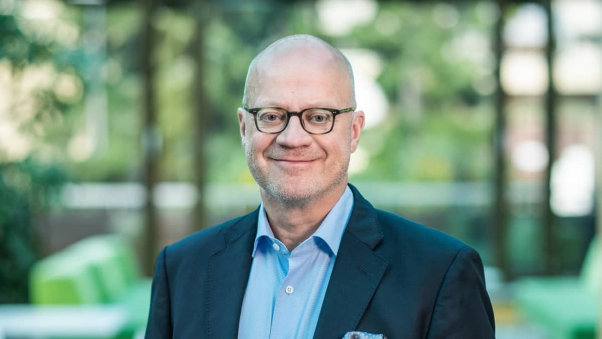 Traffic Management Finlandin toimitusjohtaja Pertti Korhonen.