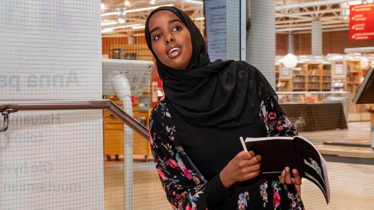 Farhia Ali on BuddySchoolin tehopakkaus.