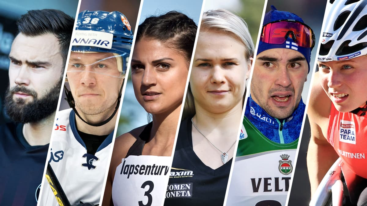 Kuvassa: Tim Sparv, Jussi Jokinen, Nooralotta Neziri, Petra Olli, Ristomatti Hakola ja Amanda Kotaja