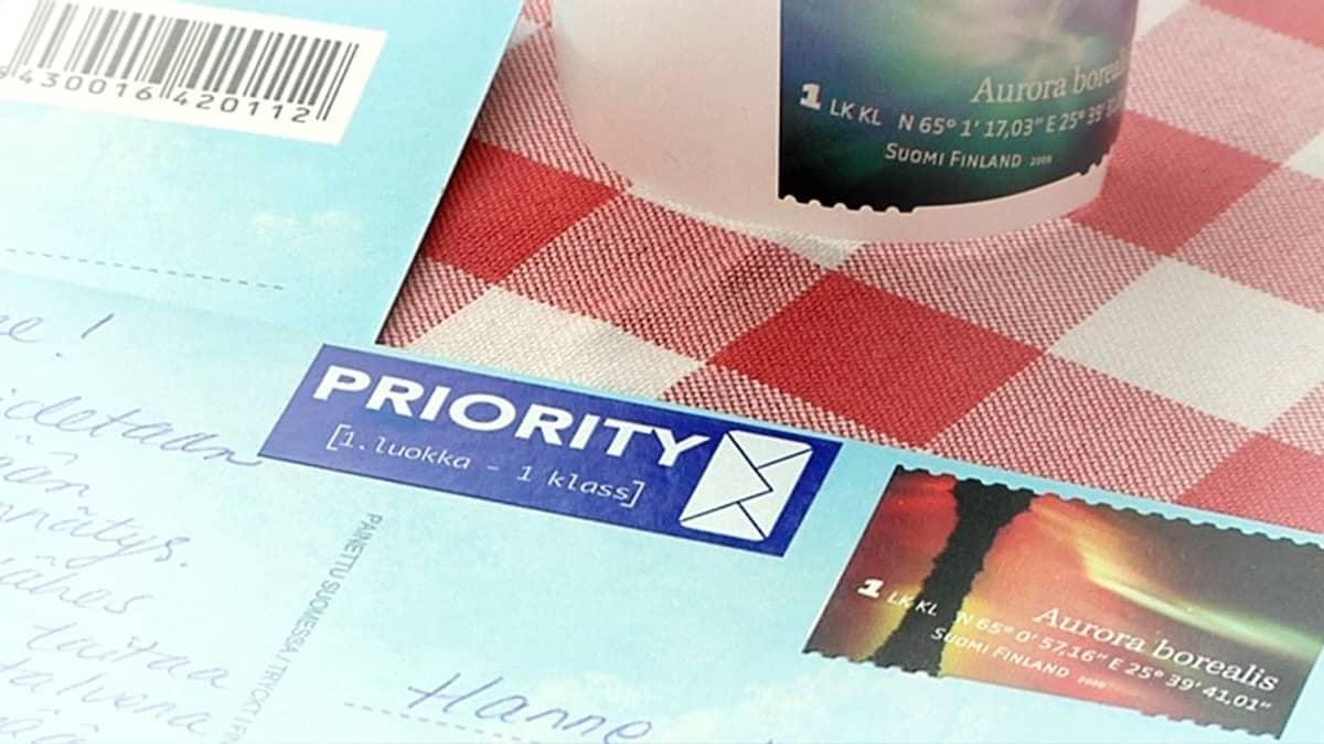 postikortti