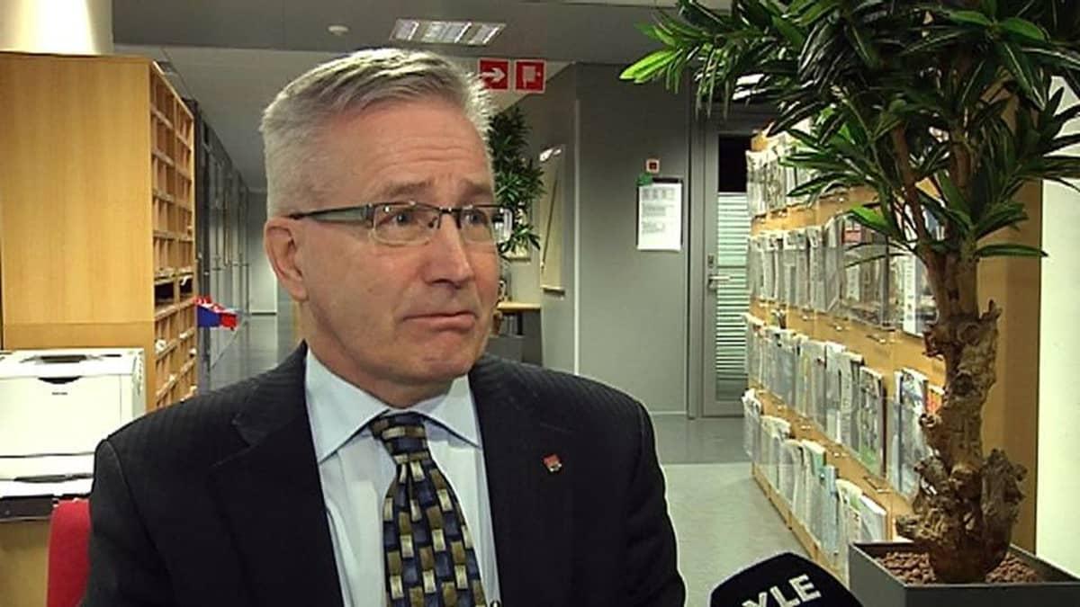 Oulun kaupunginjohtaja Matti Pennanen