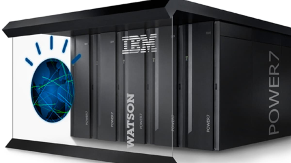 IBM Watson supertietokone