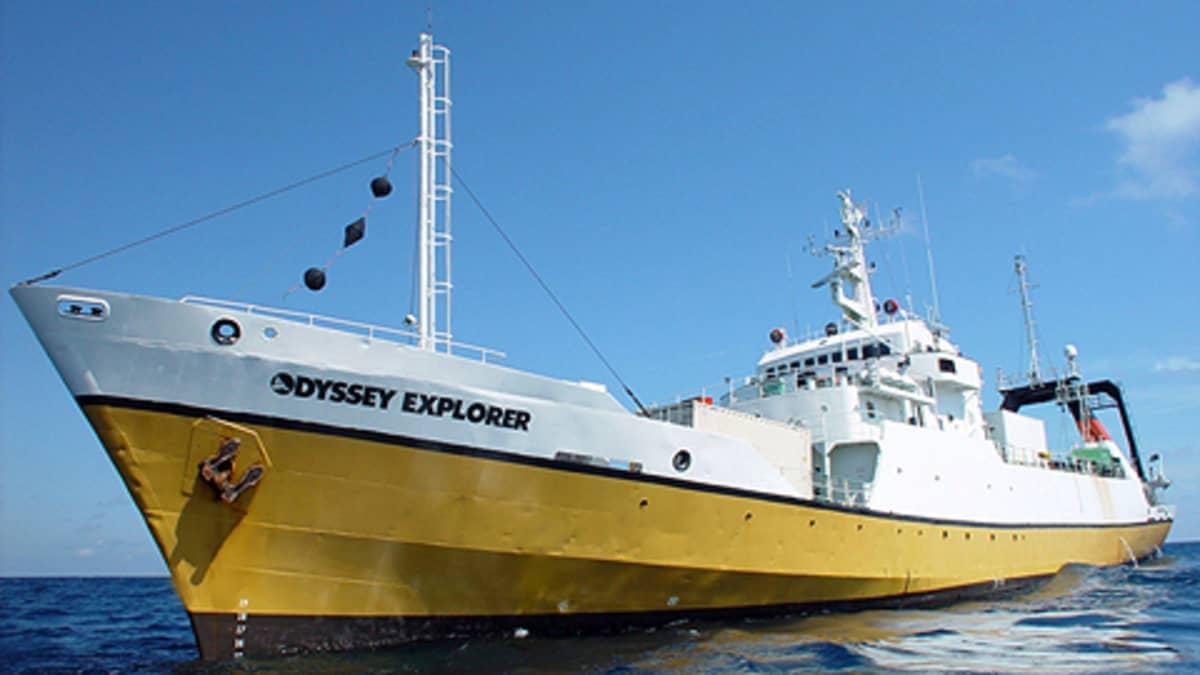 Odyssey Marine Exploration -yhtiön laiva Odyssey Explorer.