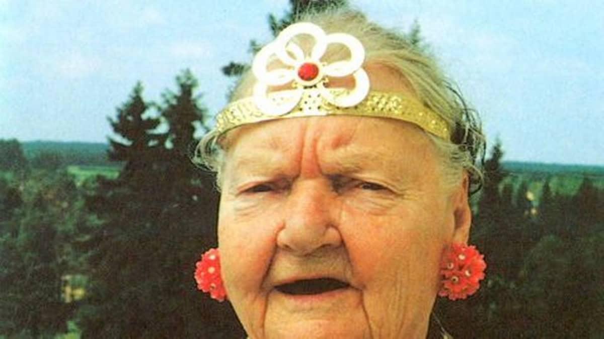 Kellokosken Prinsessa 85-vuotispäivänään