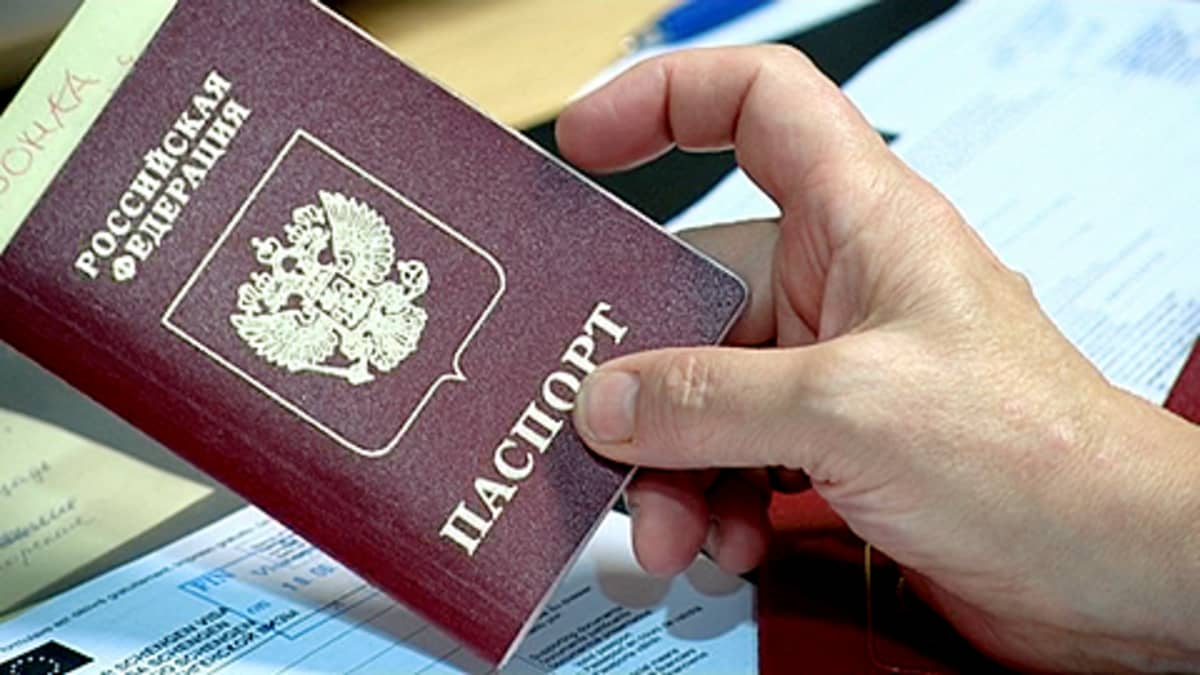venäjän passi
