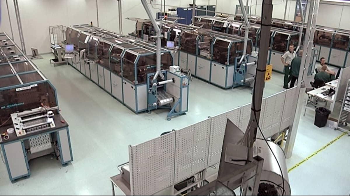 Etätunnisteiden valmistus siirtyy Jyskän tehtaalta Kiinaan