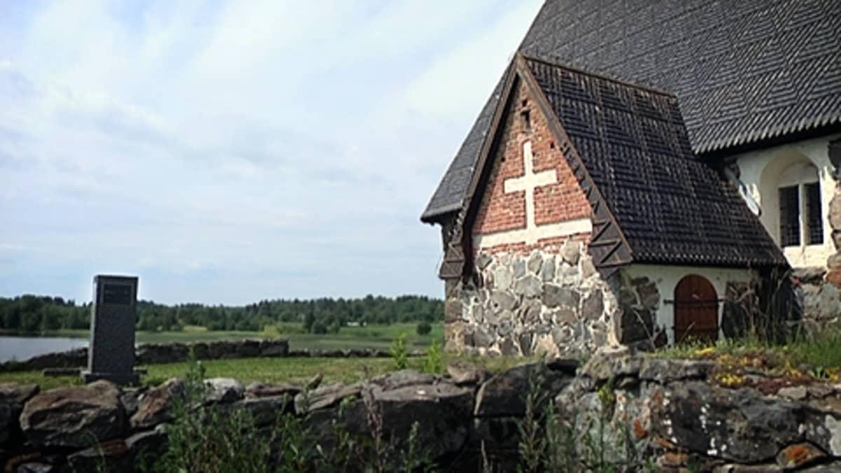 Tyrvään Pyhän Olavin kirkko.