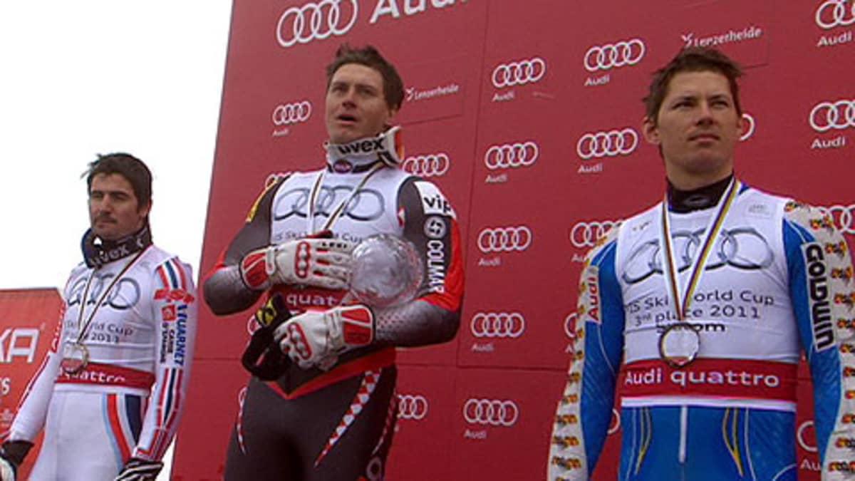 Jean-Babtiste Granger, Ivica Kostelic ja Andre Myhrer