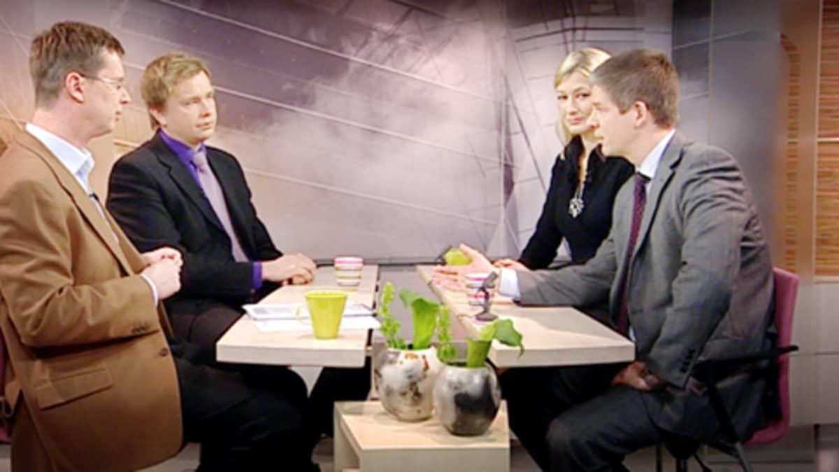 Antti Kaikkonen, Maria Guzenina-Richardson ja Sampsa Kataja