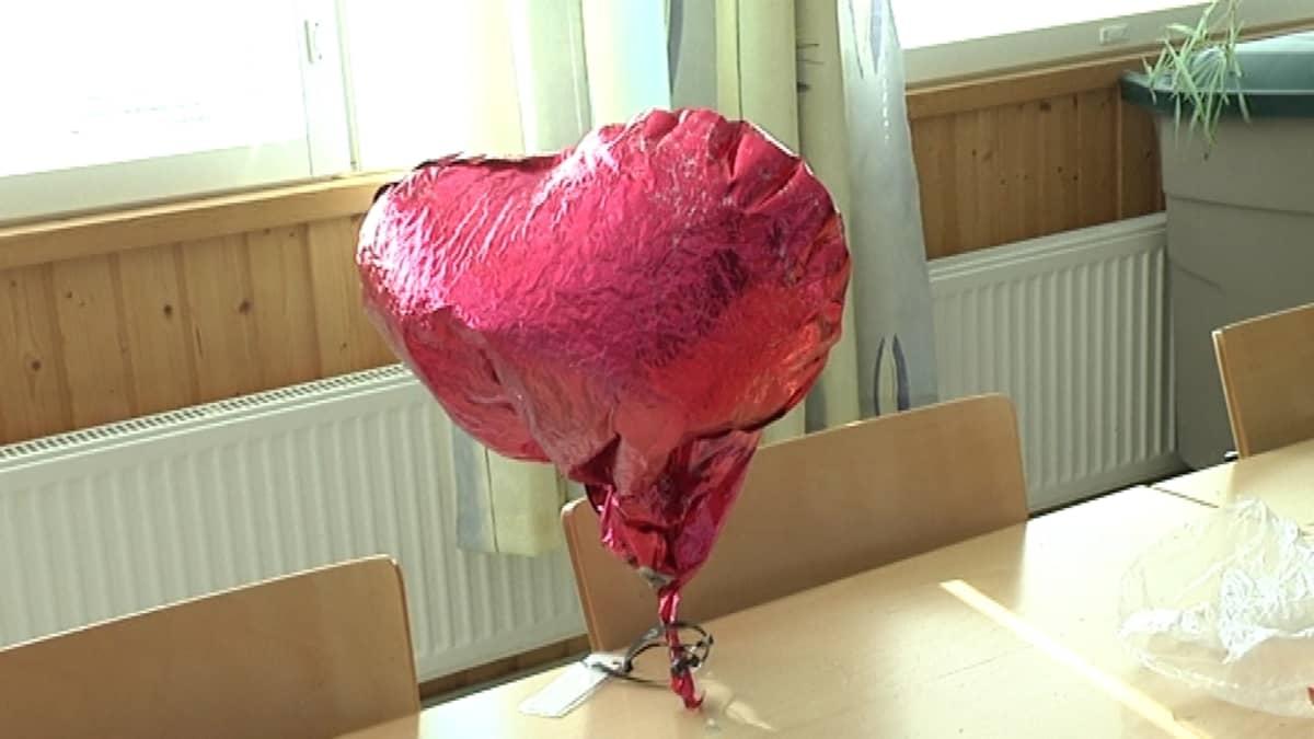 Englannista tullut heliumpallo