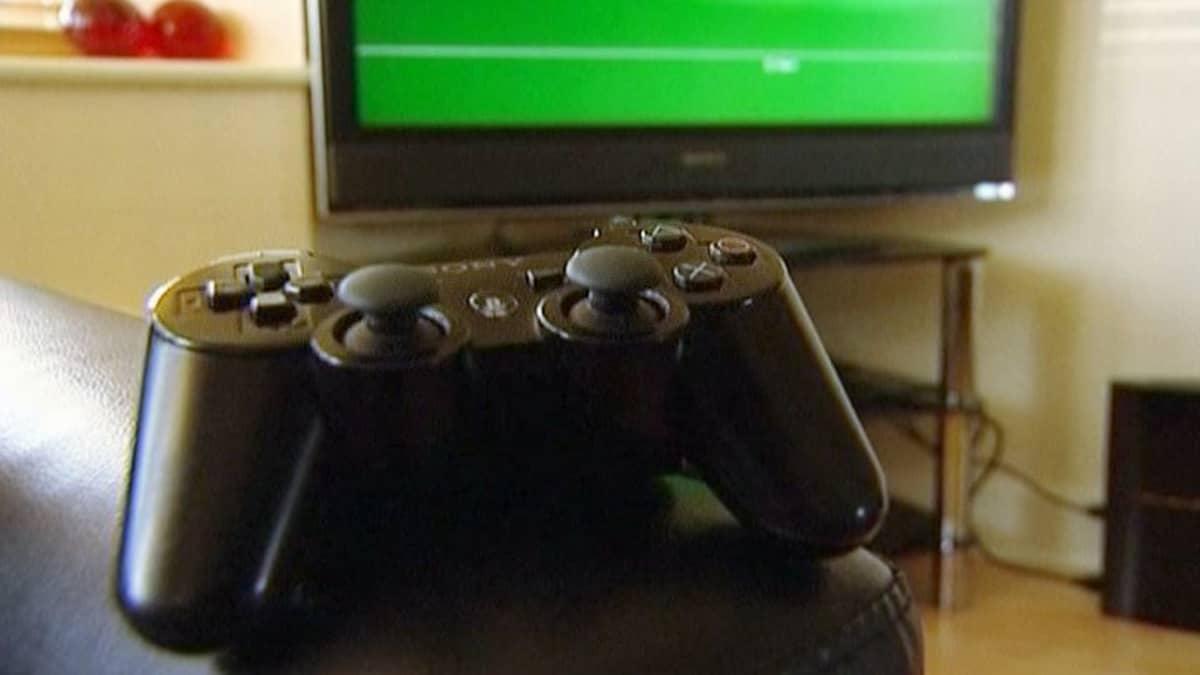 Playstation 3 -pelikonsolin ohjain.