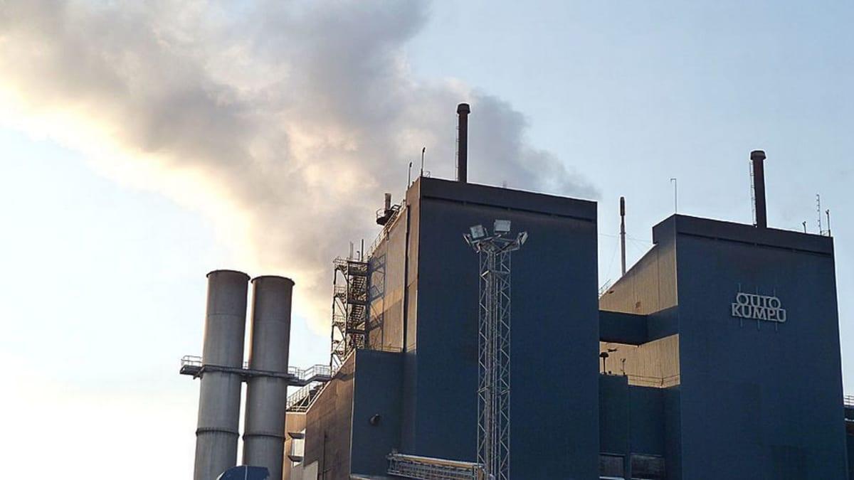 Outokummun Tornion terästehdas.