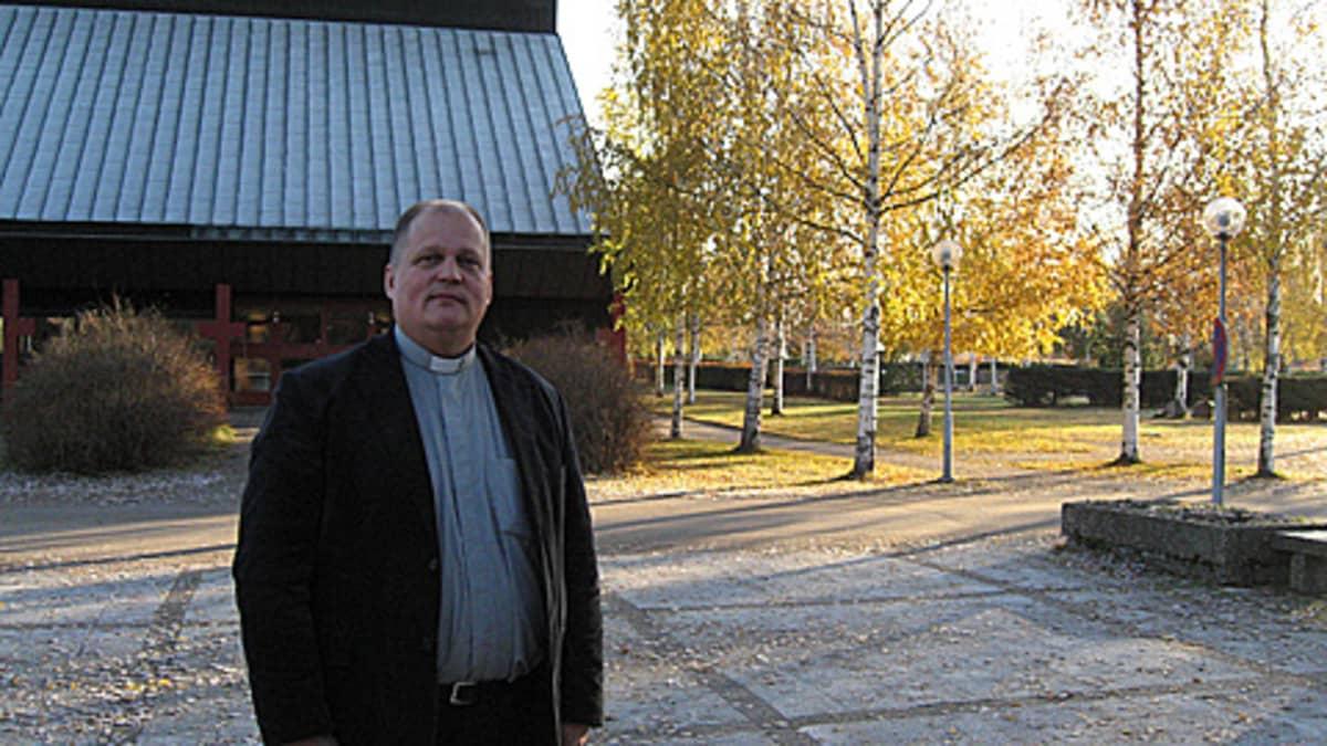 Kirkkoherra Kimmo Sulila