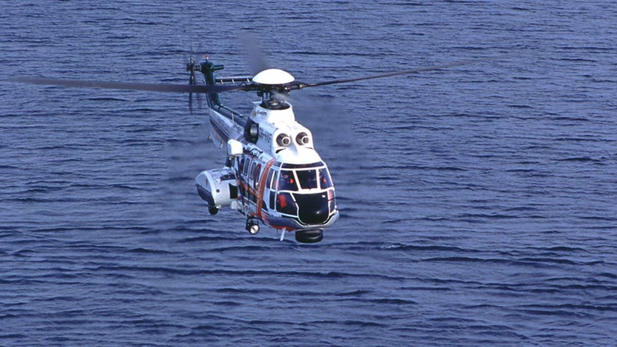 Rajavartiolaitoksen AS 332 - Super Puma -helikopteri