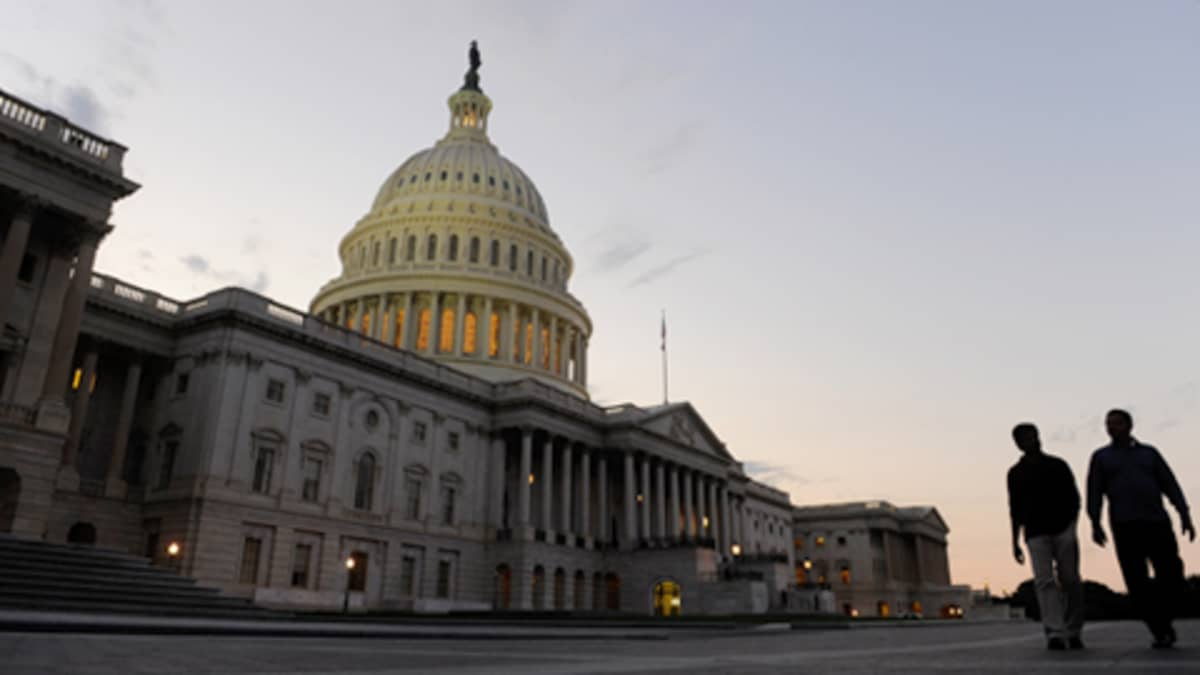 Capitol-rakennus Washingtonissa.