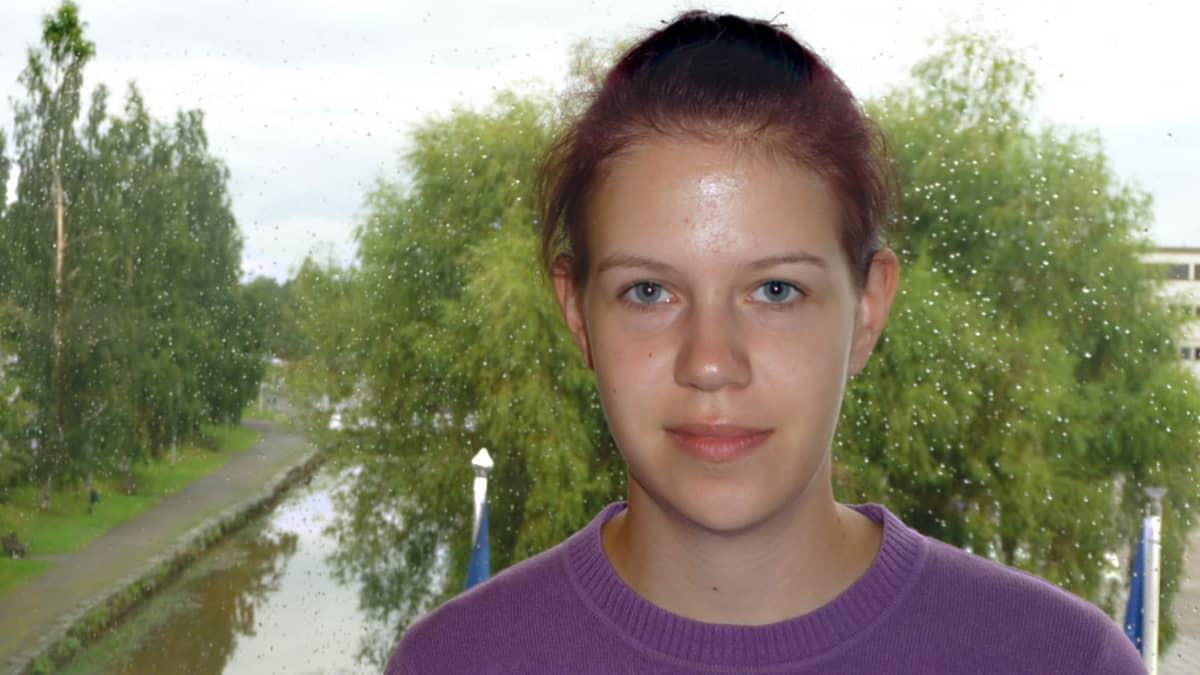 Kuvassa on Kokkolan LassiLoikka-liikuntakoulun vastuuohjaaja Tanja Öljymäki.