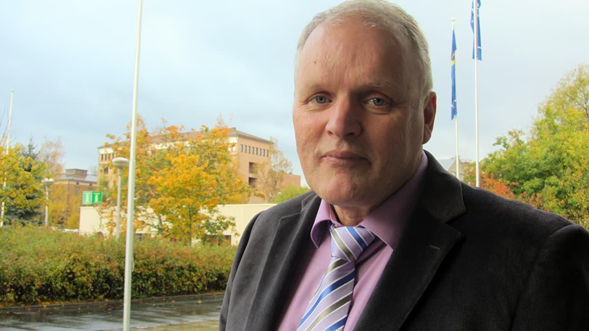 Kokkolan hallintojohtaja Kaj Broman.