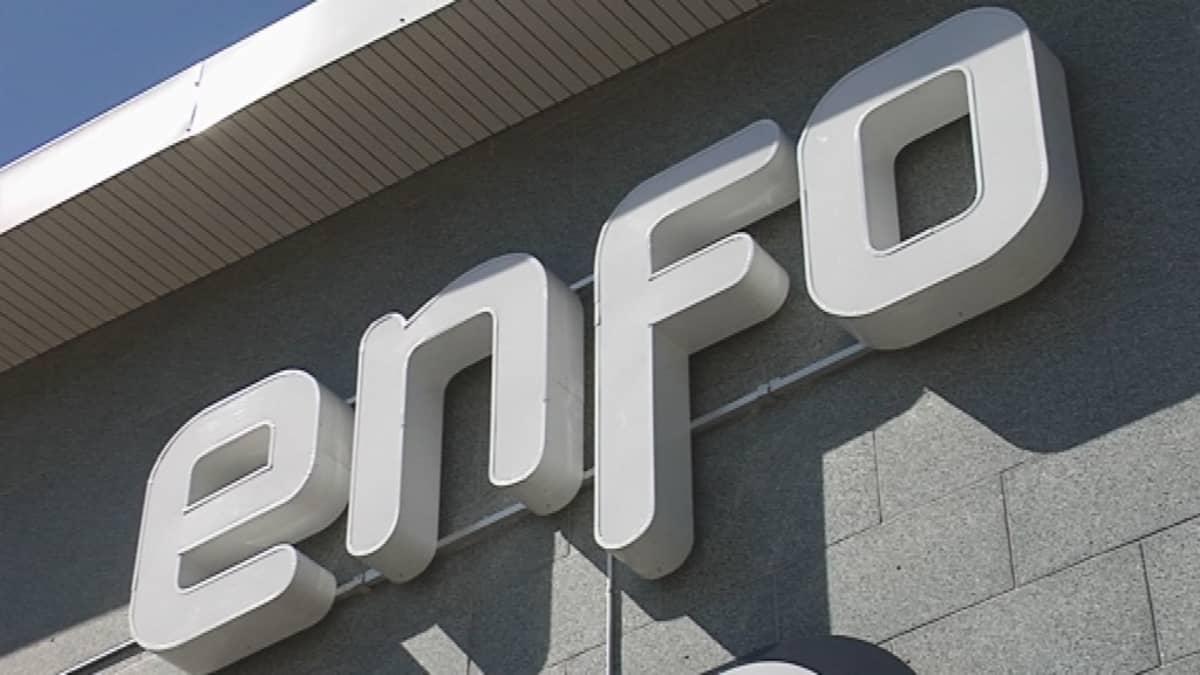 Enfo-yhtiön logo.