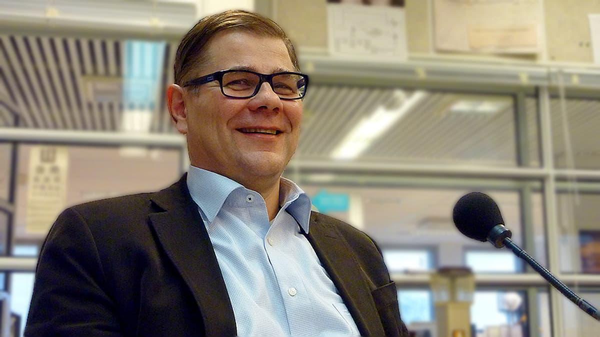 Professori Esa Vakkilainen.