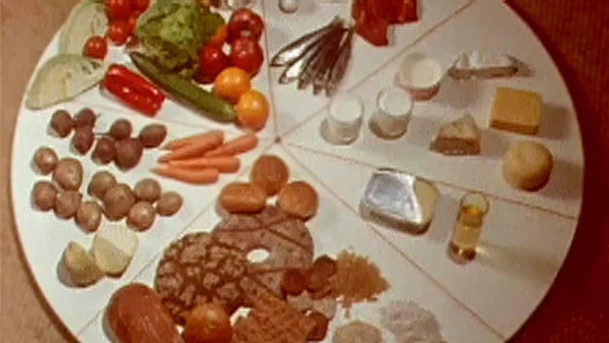 Ruoka-aineita astialla.