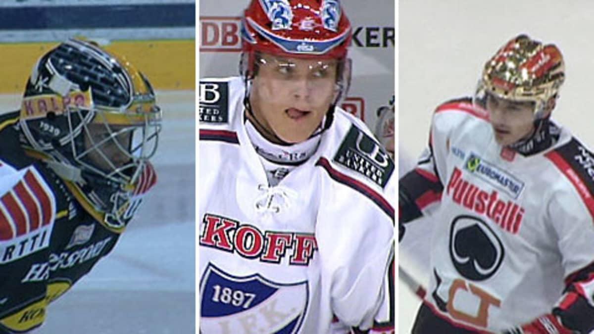 Mikko Koskinen, Mikael Granlund ja Tomas Zaborsky.