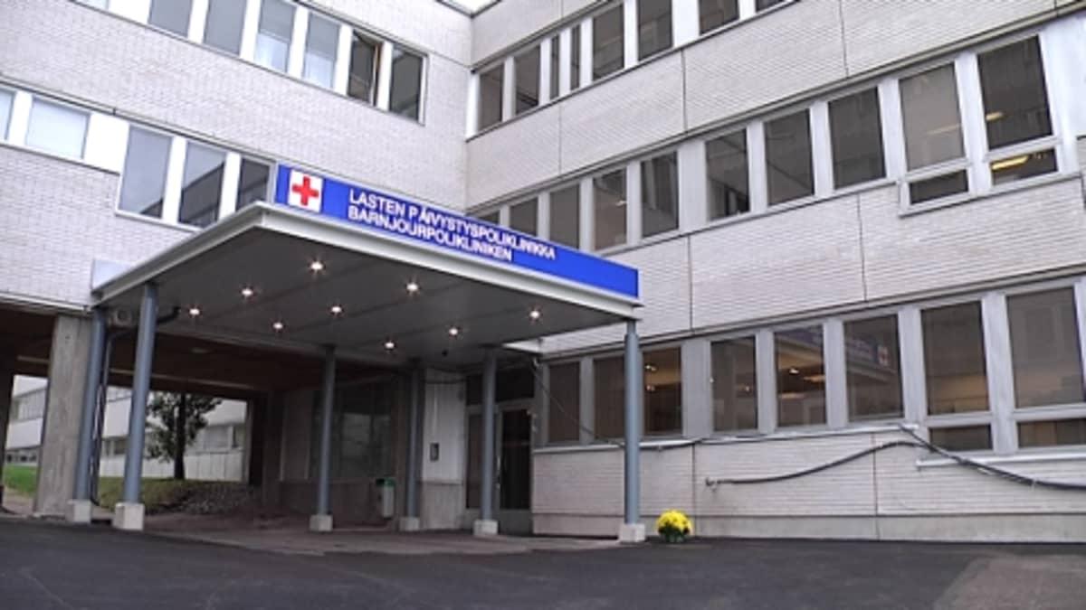 Espoon Jorvin sairaalan lasten päivystyspoliklinikka.