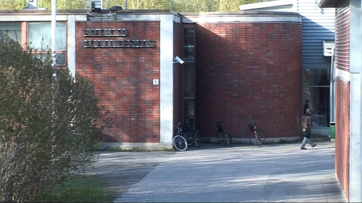 Palokan nykyinen koulukeskus.
