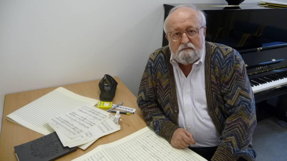 Säveltäjä Krzysztof Penderecki