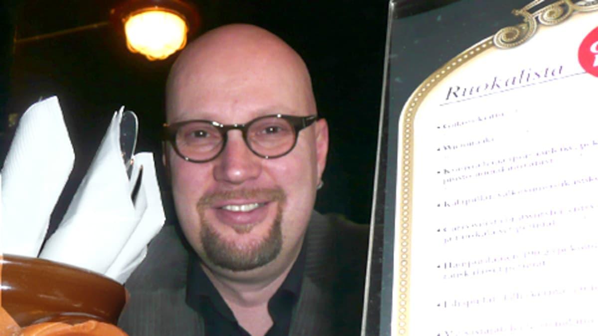 Juoppohullun päiväkirjan isä Juha Vuorinen.