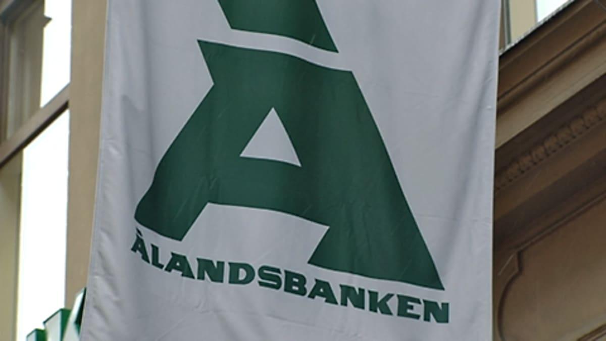 Ålandsbankenin lippu.