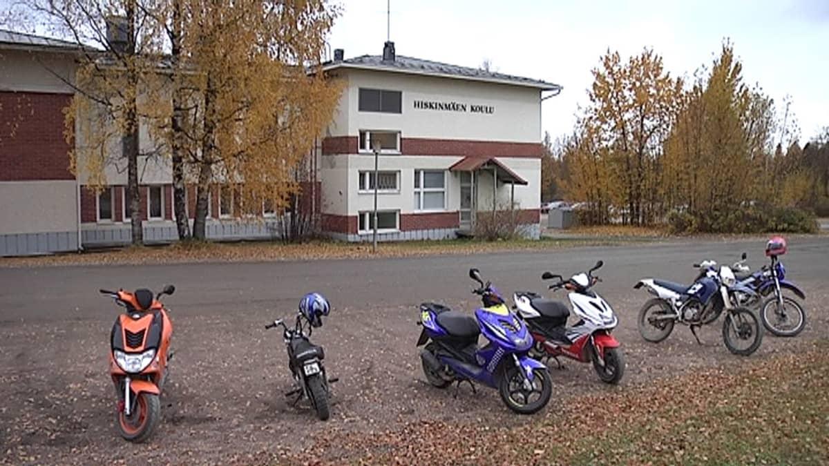 Hiskinmäen koulu Äänekoskella