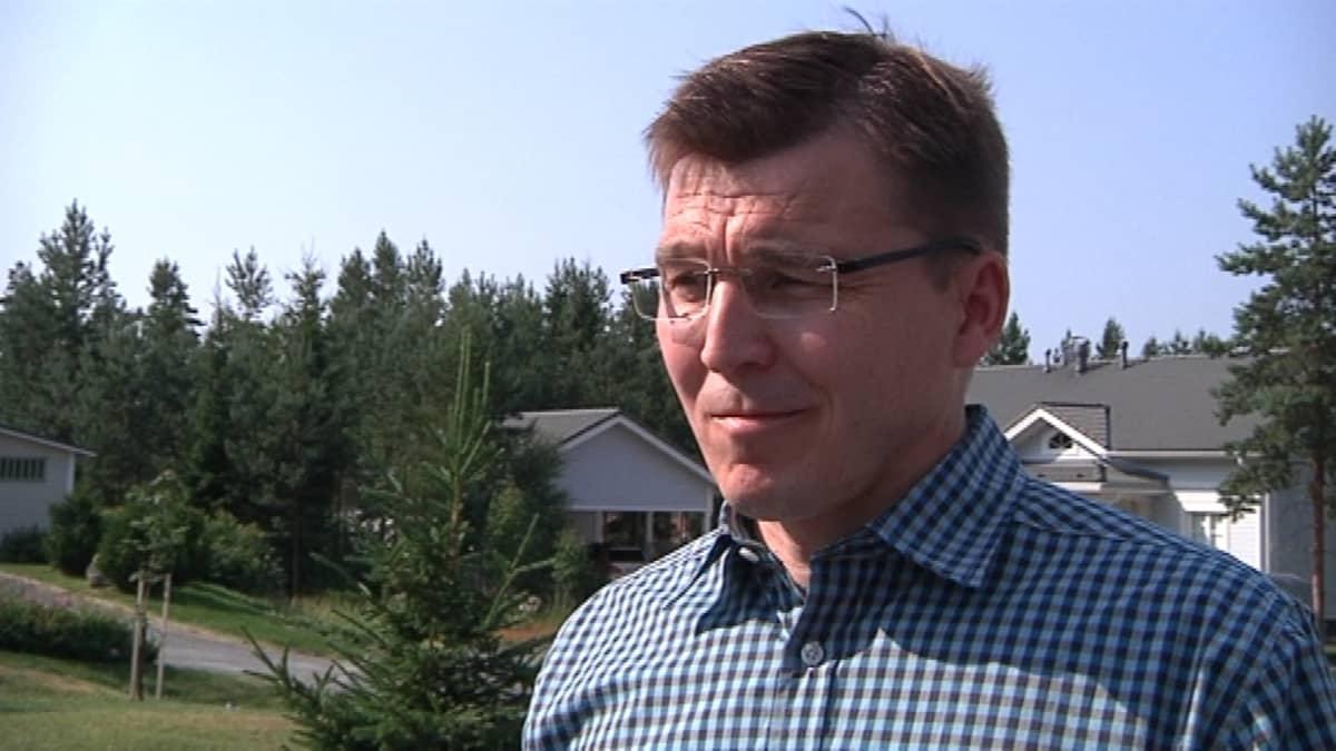 Ilmajoen kunnanjohtaja Seppo Pirttikoski.
