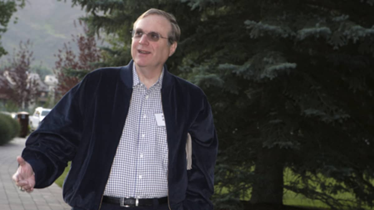 Microsoftin toinen perustaja Paul Allen 2007.