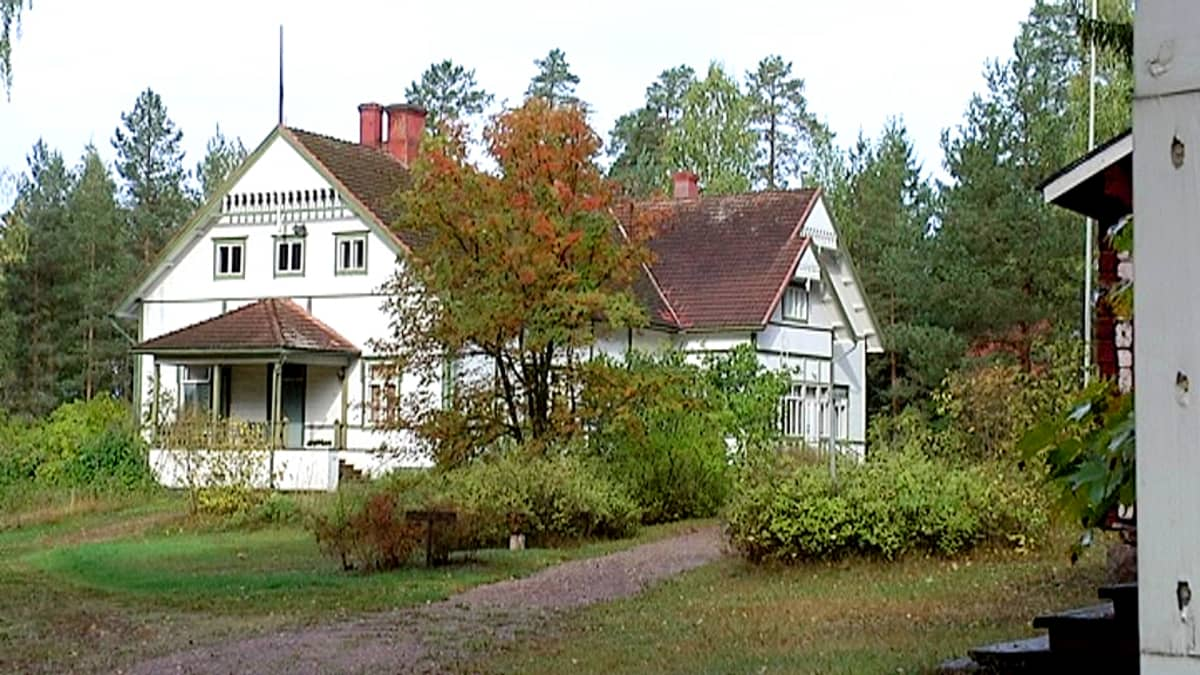Kotkaniemi, presidentti Pehr Evind Svinhufvud kotimuseo Luumäellä