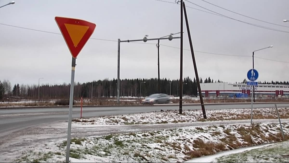 Näkymä Risön alueelle Vaasassa.