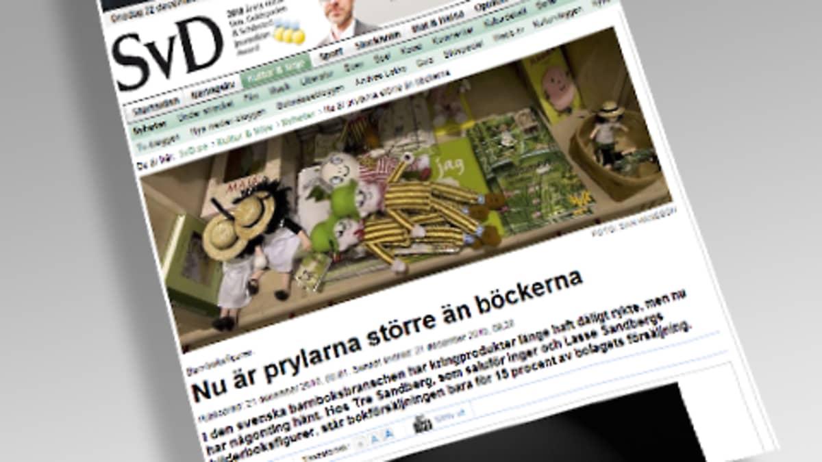 Leike Svenska Dagbladetista