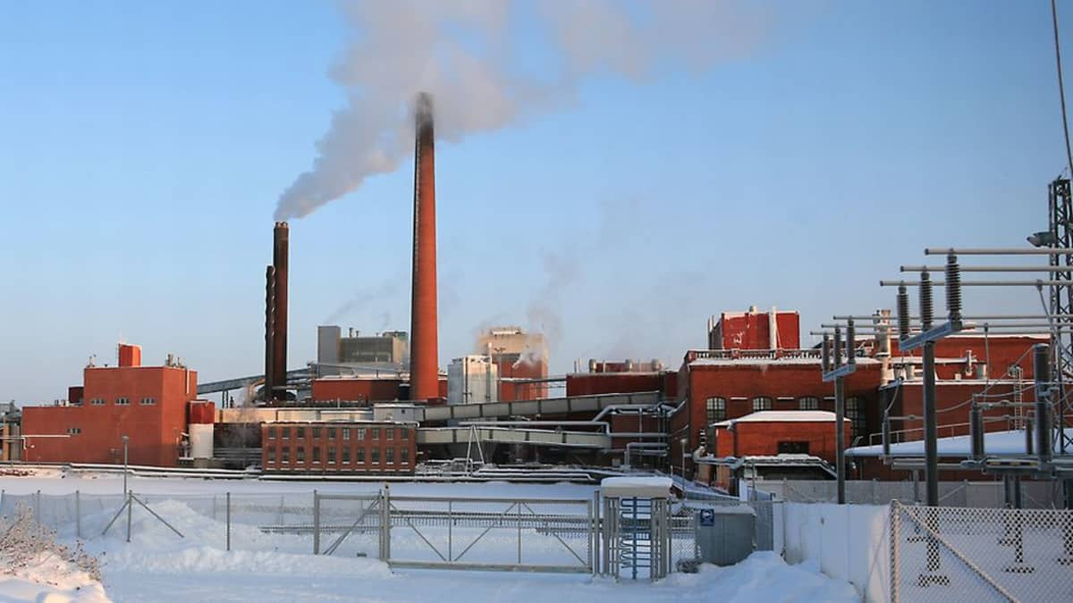 Myllykosken paperitehdas.
